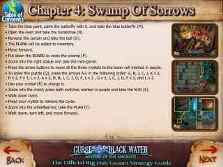 Mystery of the Ancients: The Curse of the Black Water Strategy Guide Screen 2