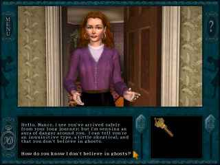 Nancy Drew Message in a Haunted Mansion Game Download
