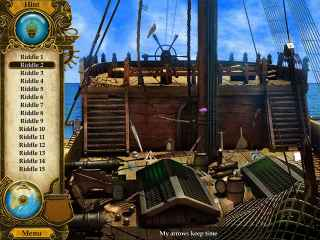 Pirate Mysteries: A Tale of Monkeys, Masks, and Hidden Objects Screen 1