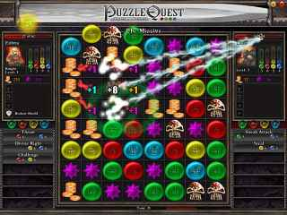 Puzzle Quest Screen 1