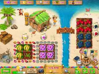 Ranch Rush 2 - Sara's Island Experiment Bild 1