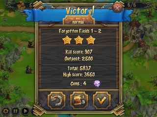 Royal Defense Screen 1