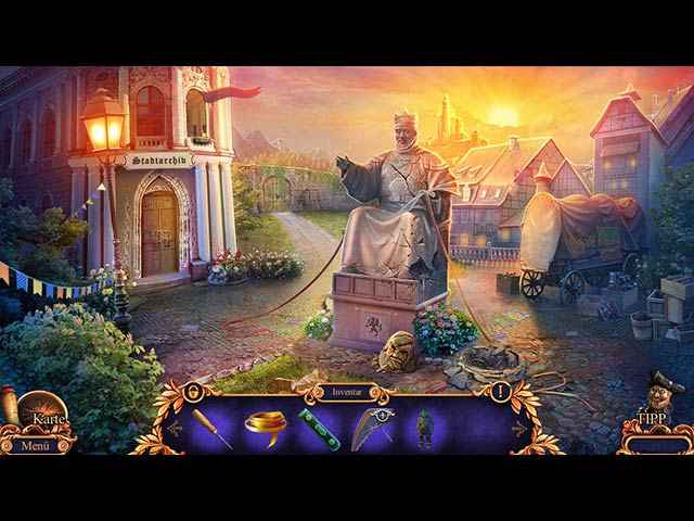 Royal Detective: Legend of the Golem Screen 2
