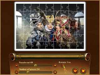 Royal Jigsaw Screen 1
