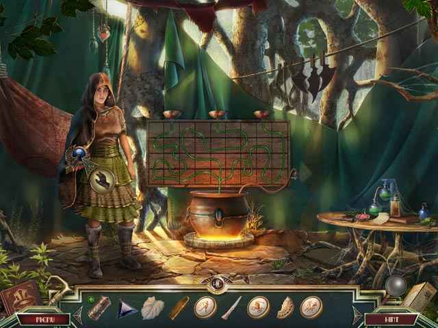Sacred Almanac: Traces of Greed Screen 1