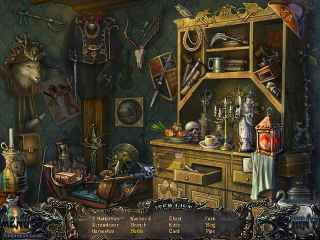 Shadow Wolf Mysteries: Curse of the Full Moon Collector's Edition Screen 1