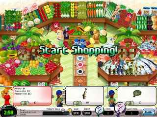 Shop-N-Spree Family Fortune Screen 1