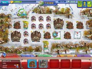 Ski Resort Mogul Screen 2