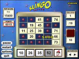 Slingo Deluxe Game Download