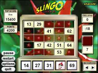 Slingo Deluxe ScreenShot