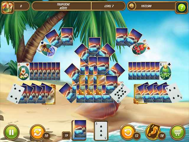 Solitaire Beach Season: A Vacation Time Screen 2