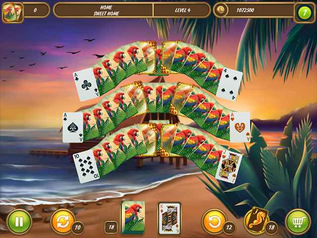 Solitaire Beach Season: A Vacation Time Screen 3