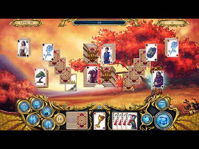 Solitaire Dragon Light Screen 1