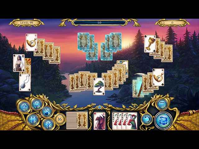 Solitaire Dragon Light Screen 2