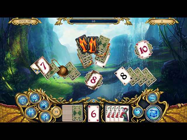 Solitaire Dragon Light Screen 3
