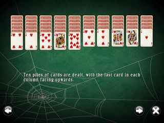 SpiderMania Solitaire ScreenShot