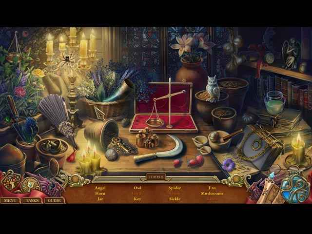 Spirits of Mystery: The Lost Queen Collector's Edition Screen 2