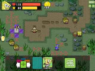 SpongeBob Atlantis SquareOff ScreenShot