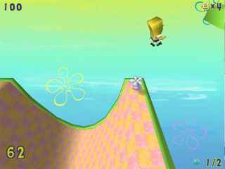 SpongeBob SquarePants Obstacle Odyssey Screen 1