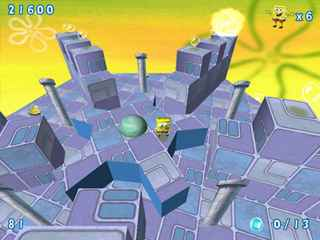 SpongeBob SquarePants Obstacle Odyssey 2 Screen 2