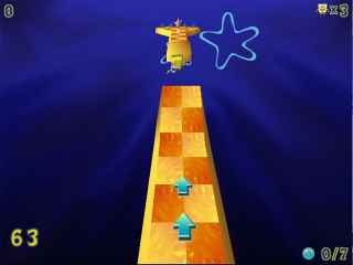 SpongeBob SquarePants Obstacle Odyssey Screen 2