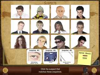 Suspects and Clues Screen 1