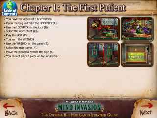 The Agency of Anomalies: Mind Invasion Strategy Guide Screen 1