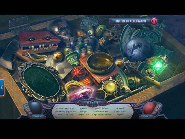 The Forgotten Fairy Tales: Canvases of Time Collector's Edition Screen 2