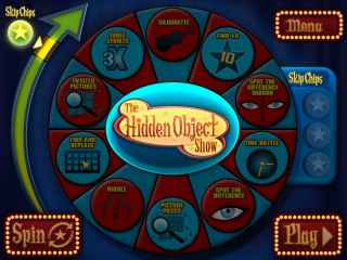 The Hidden Object Show Screen 1