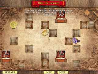The Pirate's Treasure: An Oliver Hook Mystery Screen 2