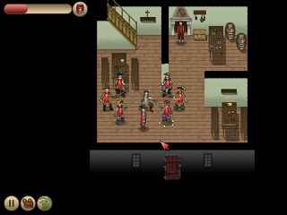 The Three Musketeers Queen Annes Diamonds ScreenShot