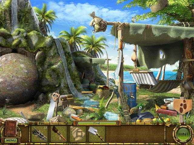 The Treasures of Mystery Island: The Gates of Fate Screen 3