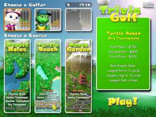 Trivia Golf ScreenShot