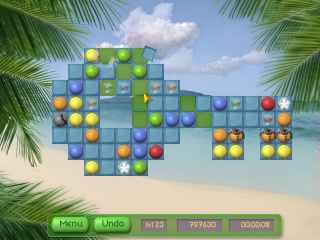 Tropical Puzzle Screen 1