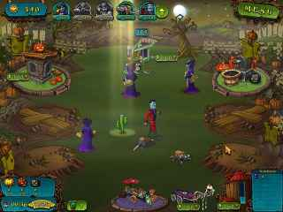 Vampires Vs Zombies Screen 2