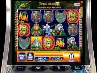WMS Jungle Wild Slot Machine Screen 2
