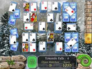 Waterscape Solitaire: American Falls Screen 1