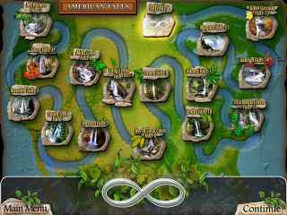 Waterscape Solitaire: American Falls Screen 2