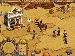 Westward II: Heroes of the Frontier Screen 2