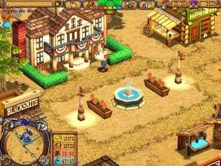 Westward III: Gold Rush Screen 1