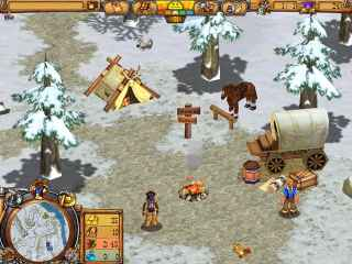 Westward III: Gold Rush Screen 2