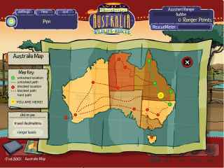 Wild Thornberrys Australian Wildlife Rescue Screen 2
