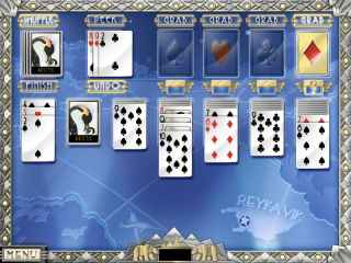 World Class Solitaire Screen 1