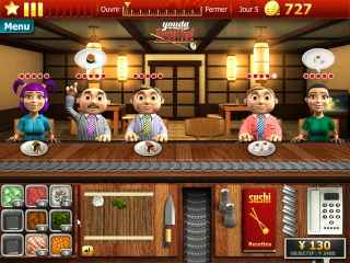 Youda Sushi Chef Game Download