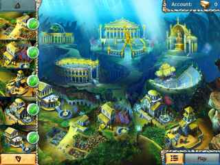 Jewel Legends Atlantis Screen 3